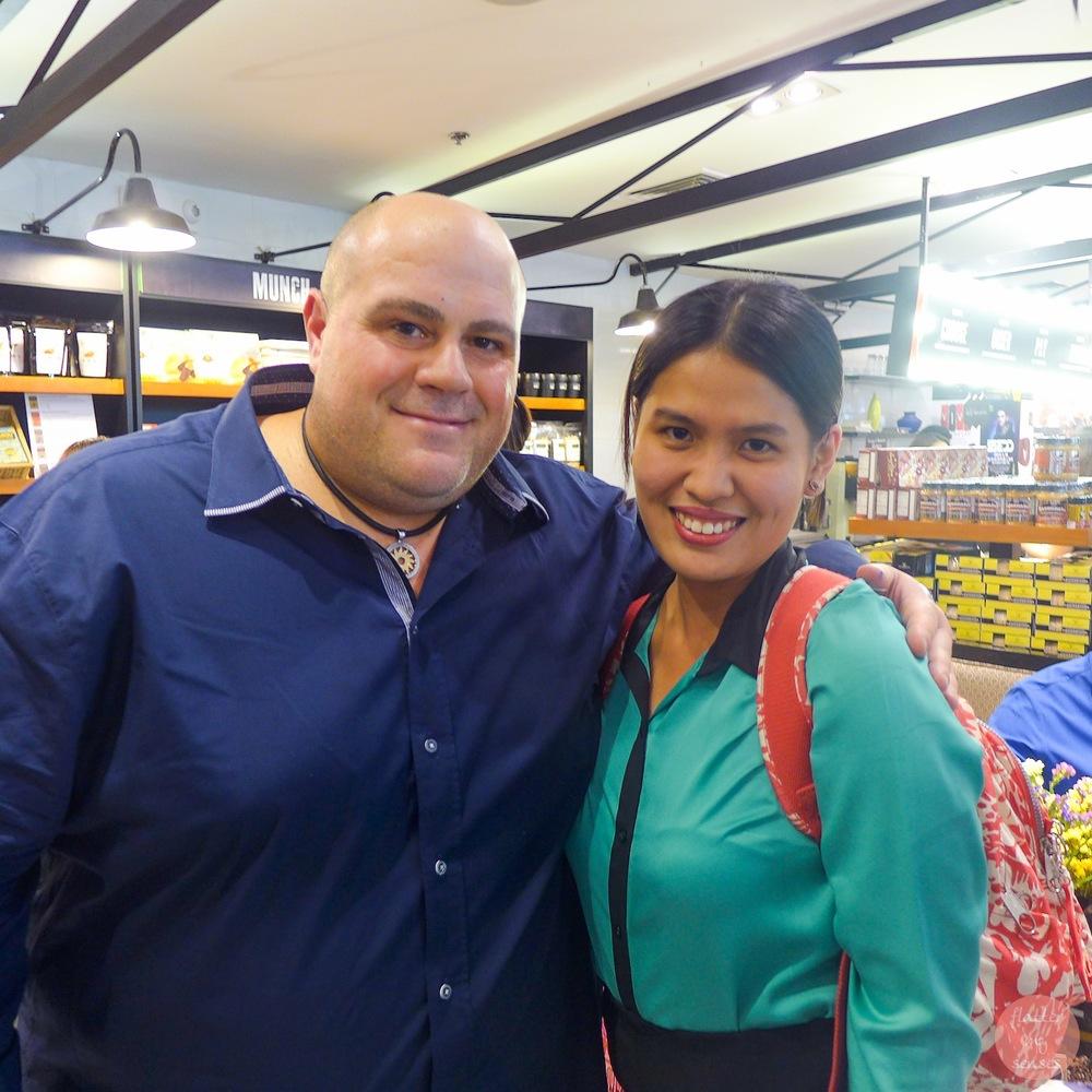 With Australia's Coffee king, Phillip Di Bella
