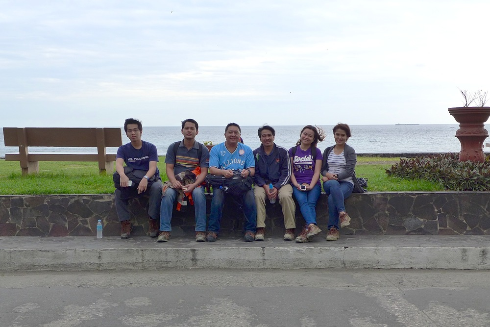 With my colleagues from work during our Commissioning activity in Dumaguete. This was captured along the infamous Dumaguete boardwalk.