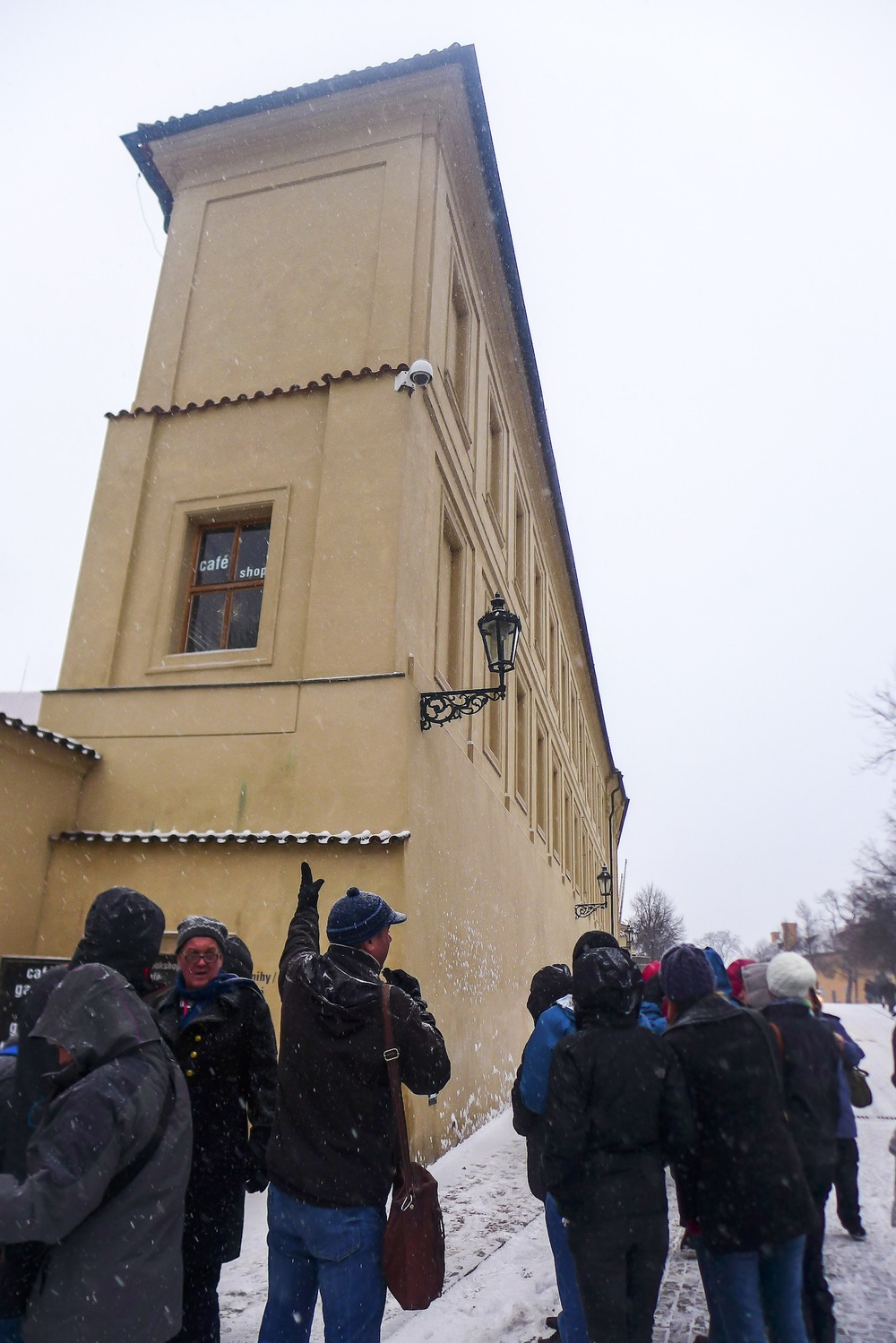 Here is a very narrow building that you will see prior entering the Castle Complex.