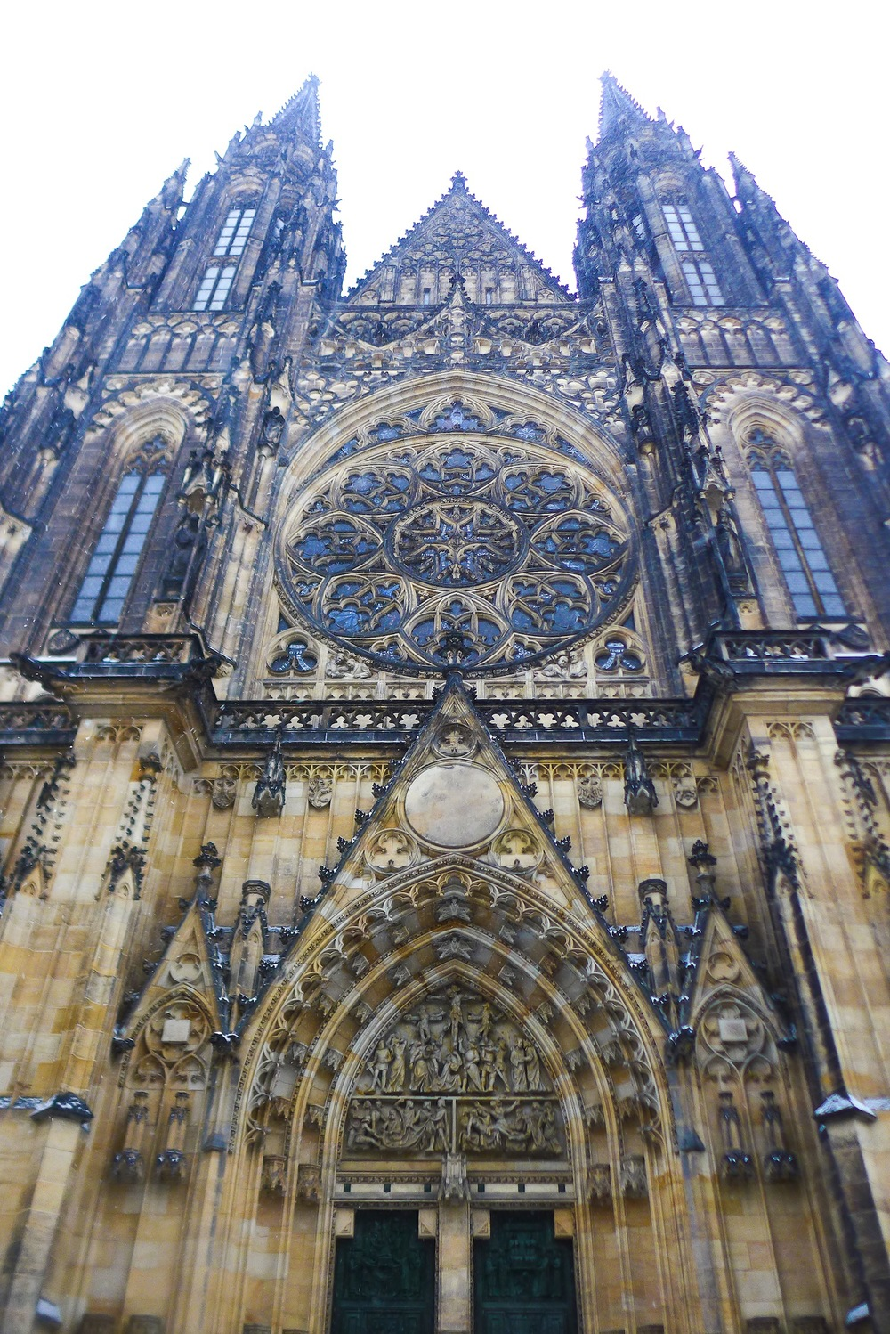 The magnificent Vitus' Cathedral was nothing short of what I expected it to be. More so, it surpassed my wildest expectations. Truly a Gothic masterpiece this spiritual symbol of the Czech state is.