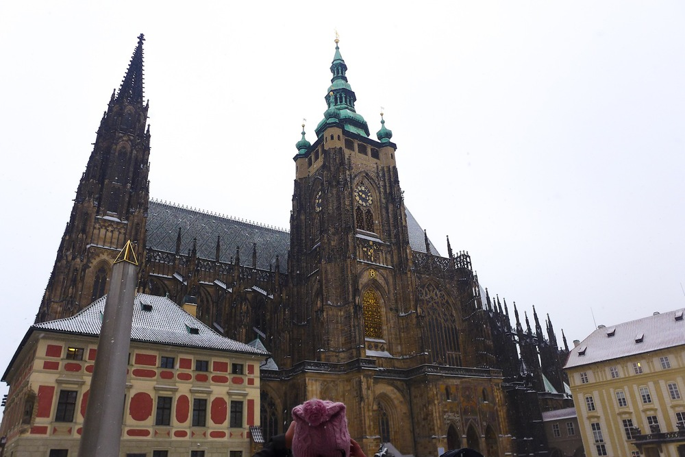Here's another angle of the spectacular St. Vitus' Cathedral.
