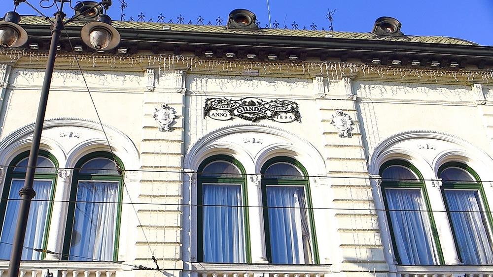 Facade of the Gundel Restaurant
