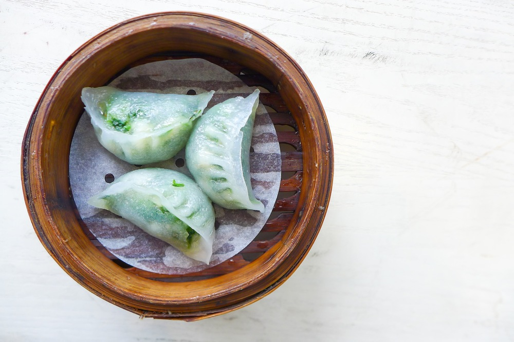Steamed Shrimp and Spinach Dumpling (the best!)