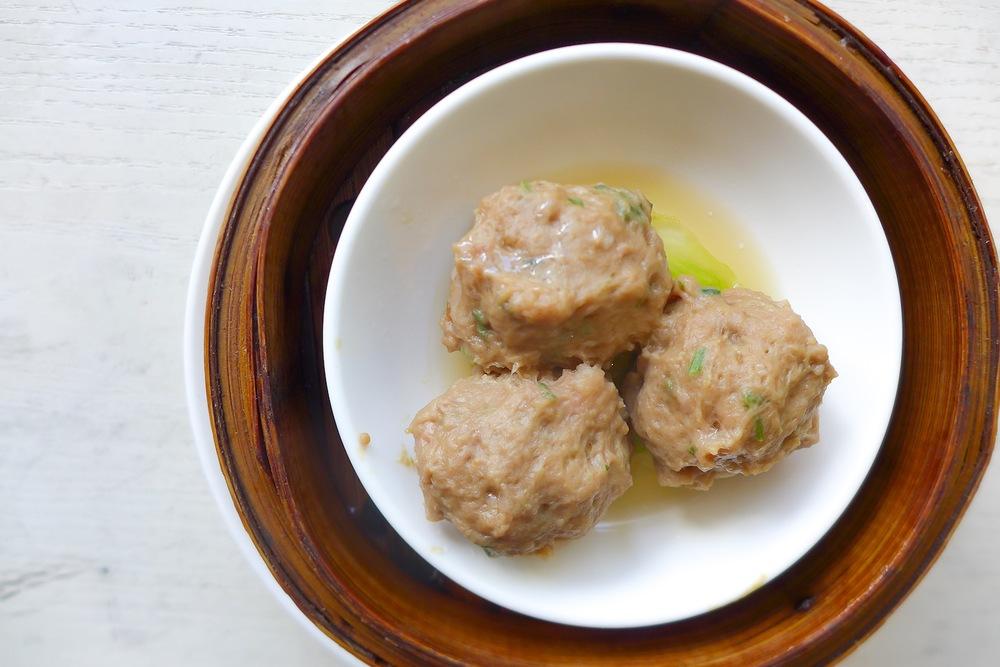 Steamed Beef Balls