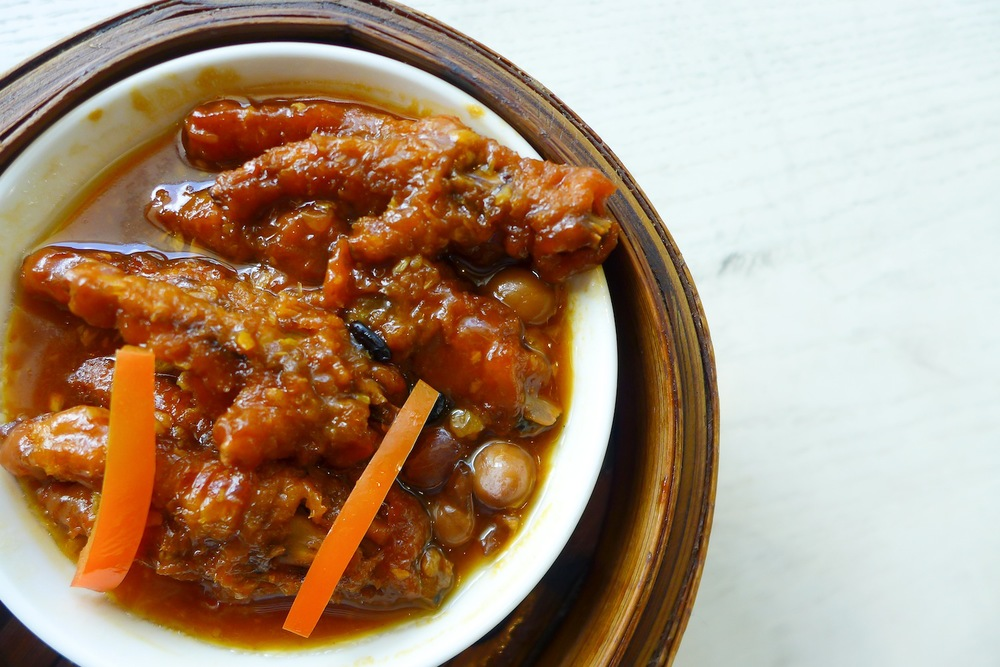 Steamed Chicken Feet with Special Sauce
