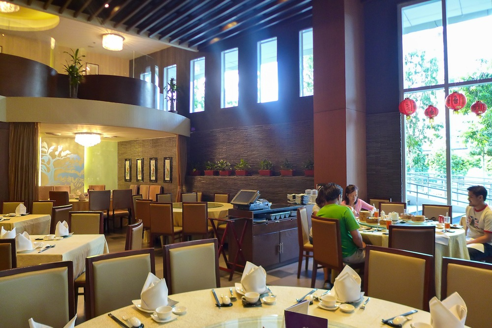 Interior of Crystal Jade Dining IN