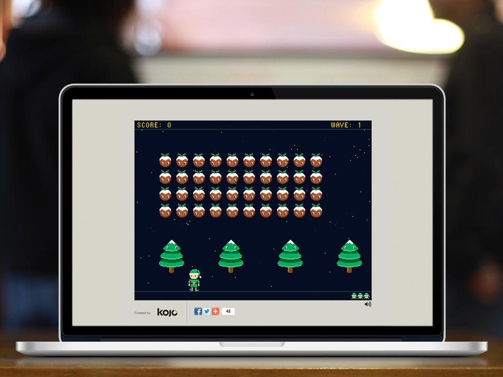 8-Bit Elf game