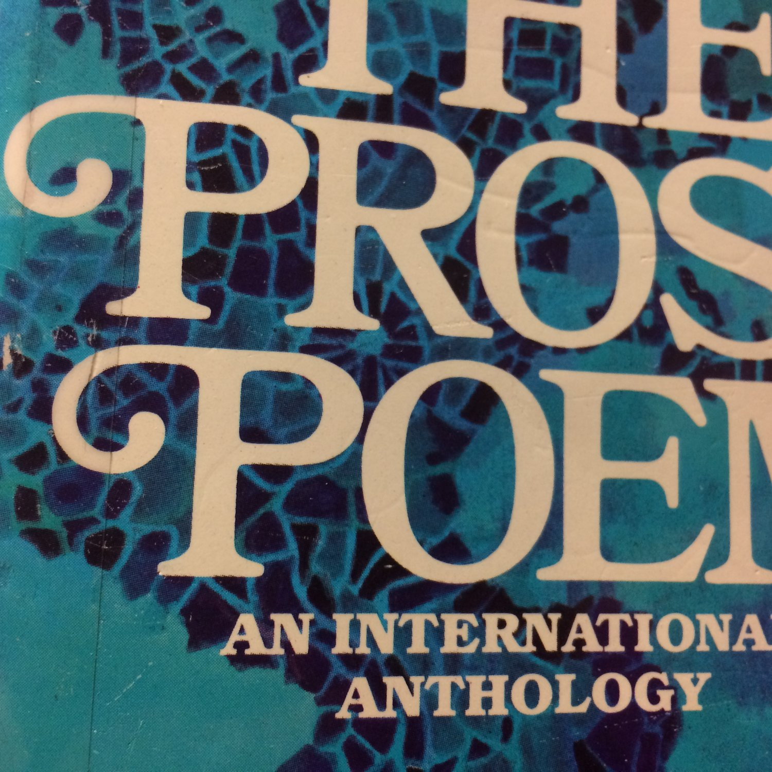 Documenting The Prose Poem: An International Anthology (updated