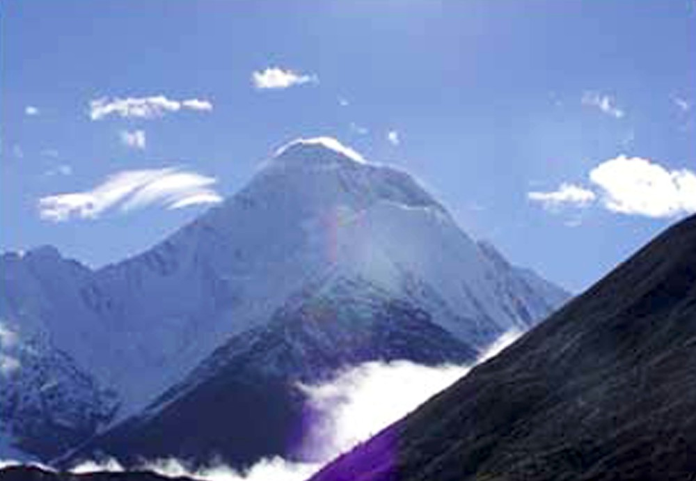 Gangkar Mountain, photo from  PChome Online