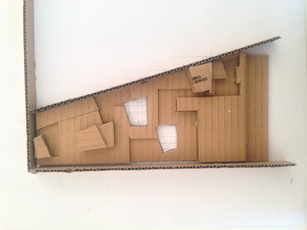 My design developing through model