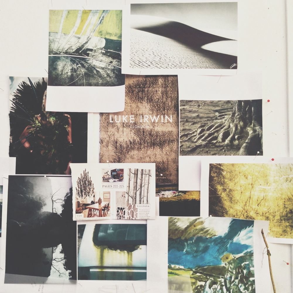 My mood board for D1