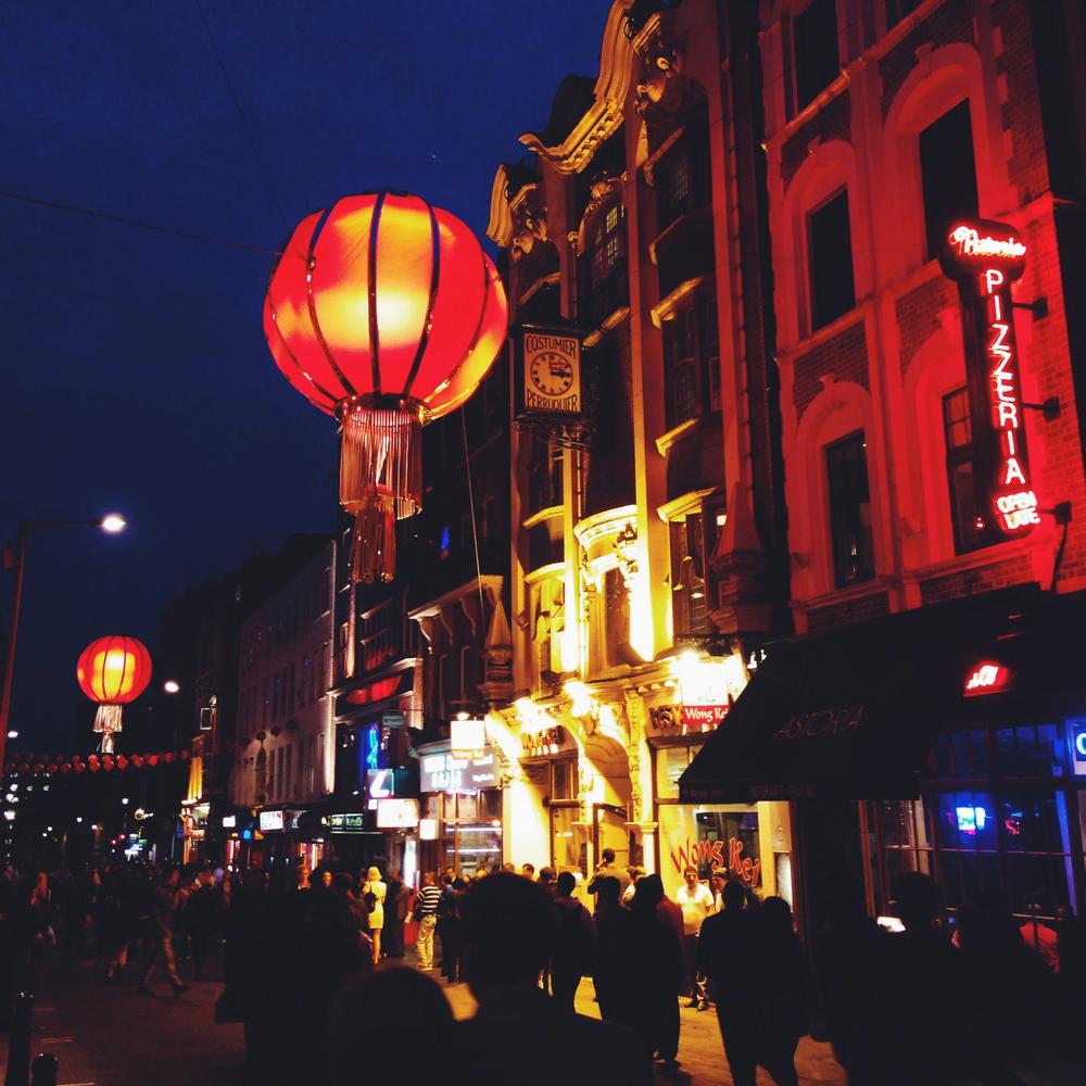China Town = my back door