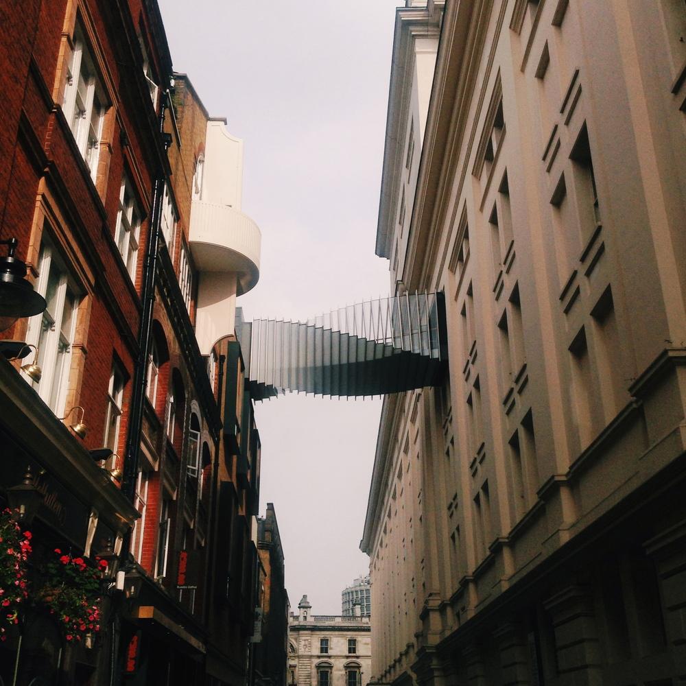 Cool Bridge near Covent Garden