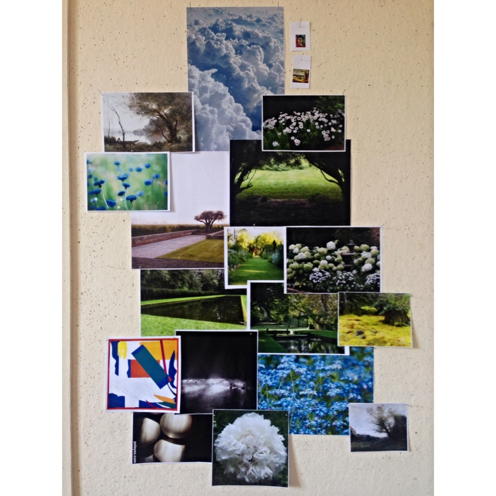 My D7 Mood Board for the Main Gardens