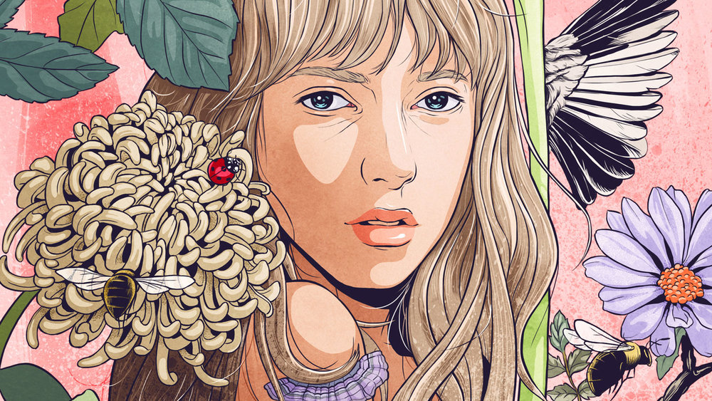 Kindle - illustration details.