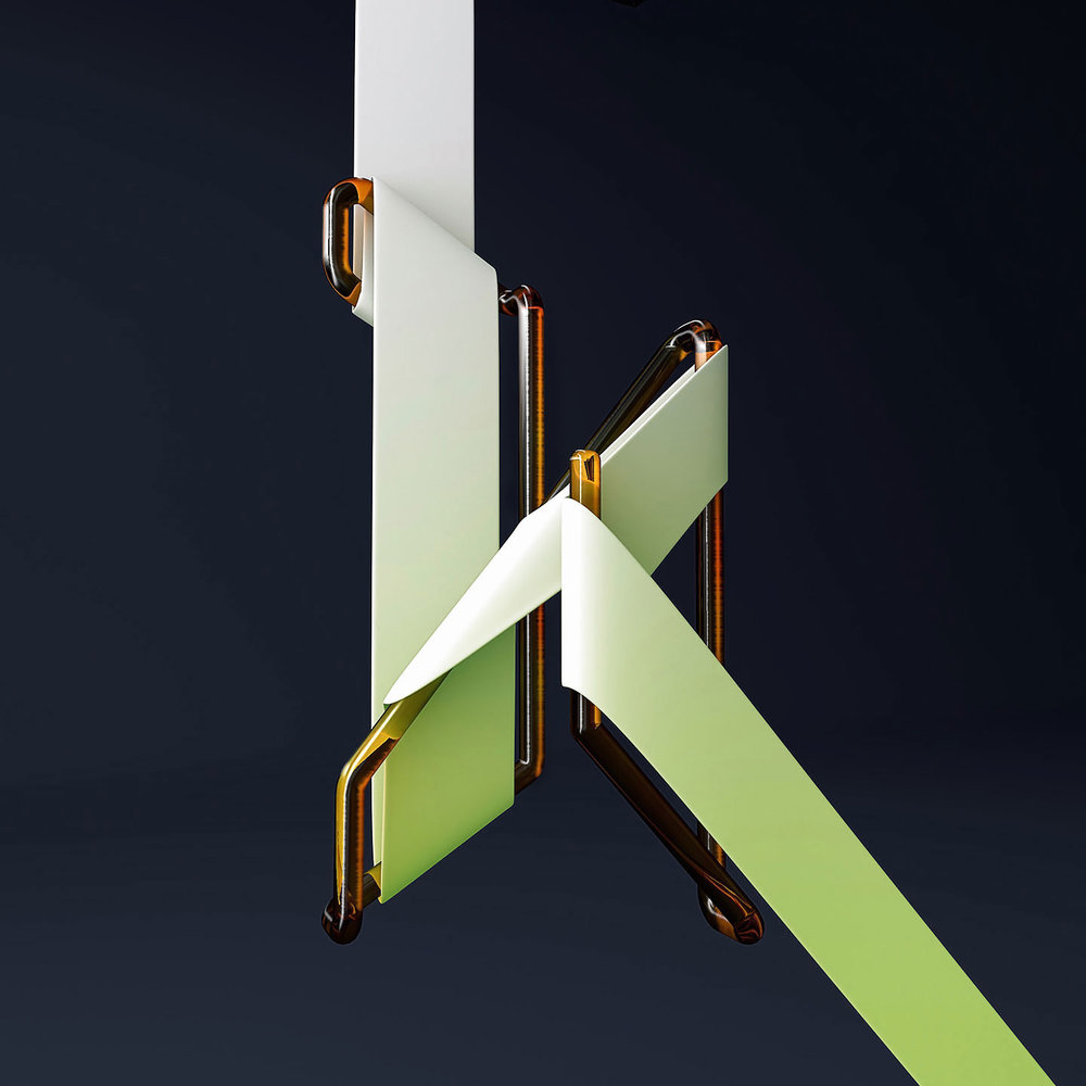 36 Days of Type 2016 - 3D typography letter K visual.