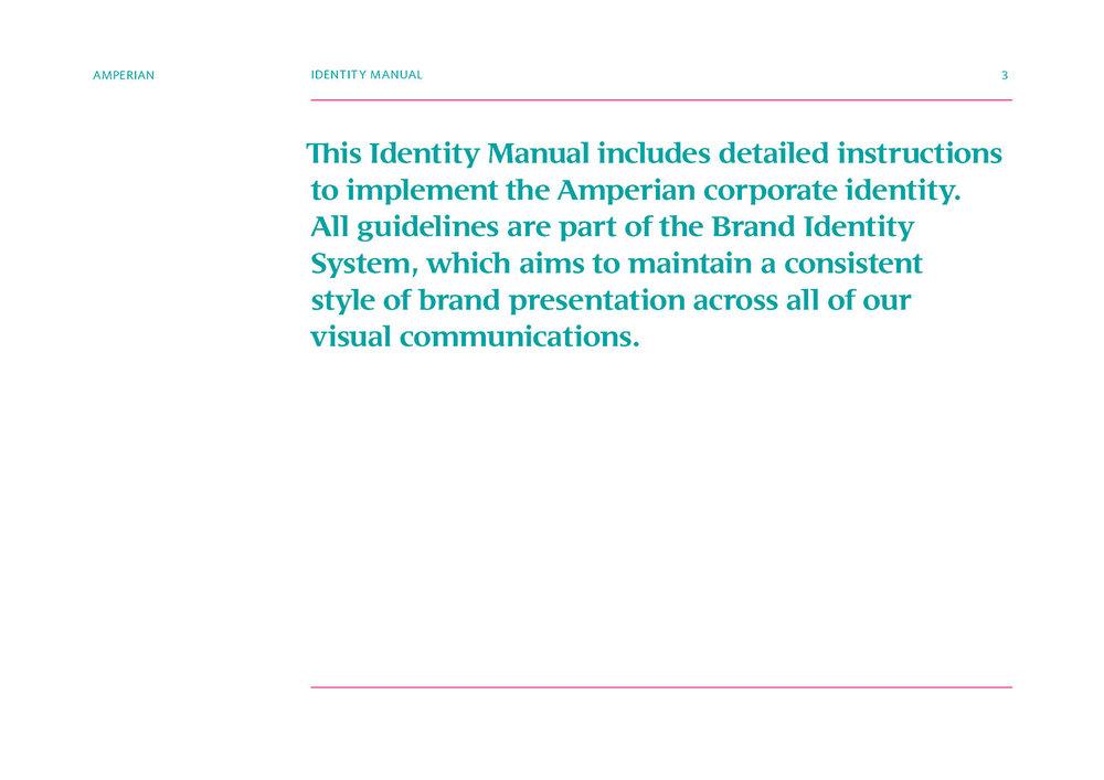 Amperian Identity Manual.