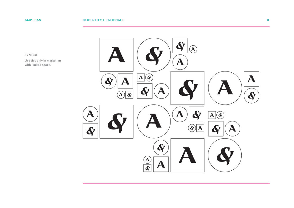 Amperian SG branding corporate identity design guide manual - Identity symbols.