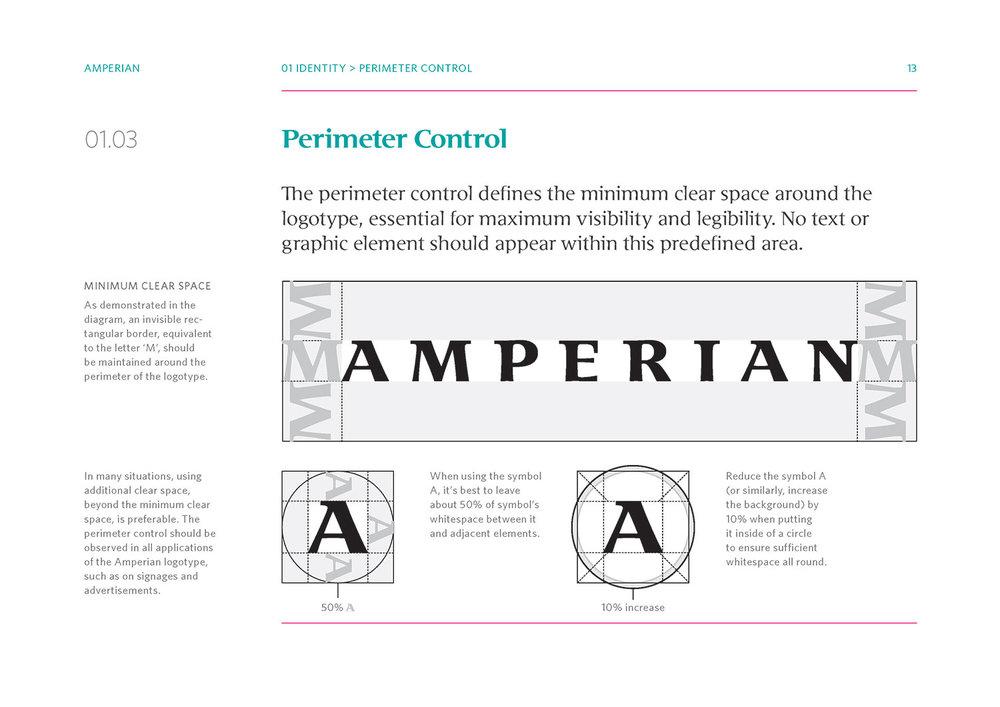 Amperian Identity Manual - Perimeter Control.