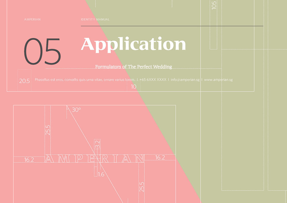 Amperian Identity Manual - Application section cover.