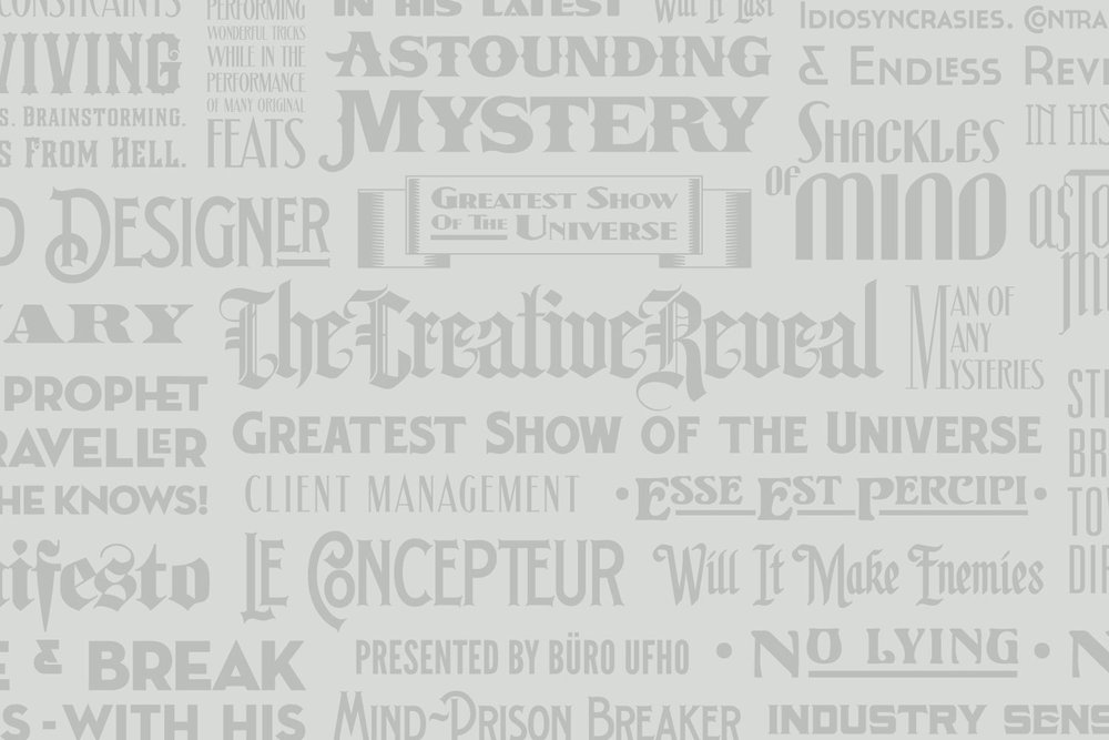 Creative Reveal - Typography.