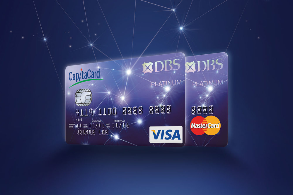 DBS CapitaCard.