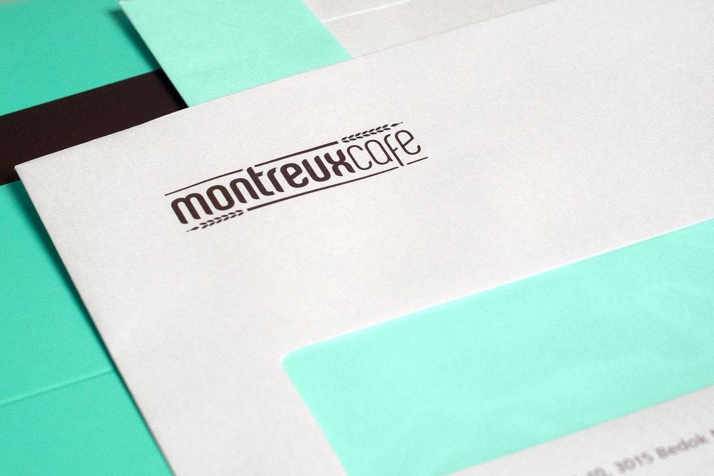 Montreux Café - Envelope.