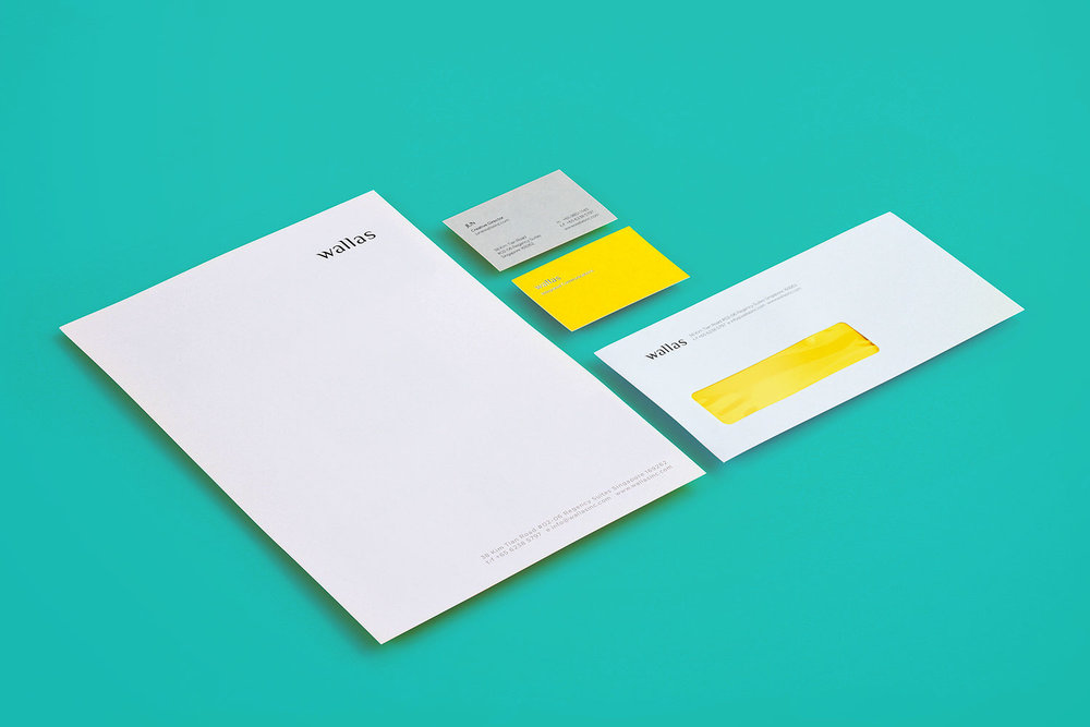 Wallas Inc - Stationery.