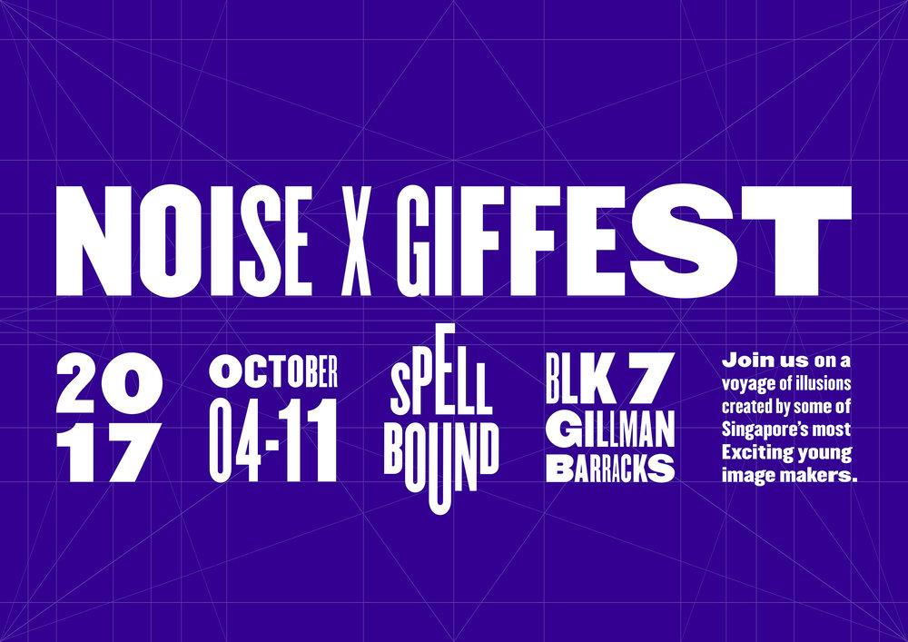 GIF Fest typeset