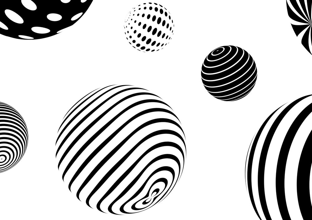 GIF Fest SG branding identity - Orb patterns graphic design detail.