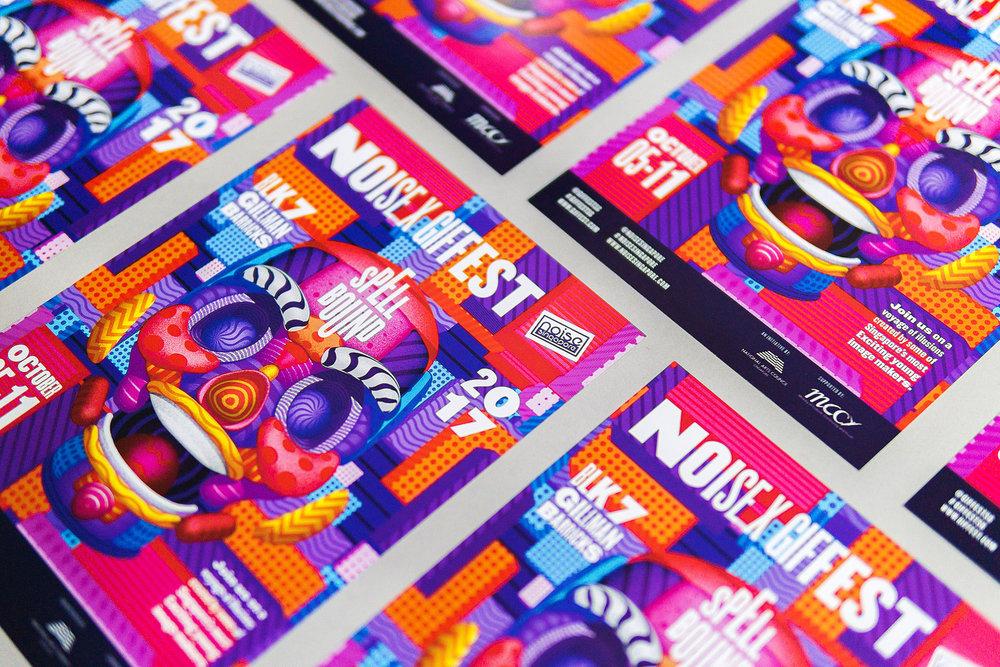 GIF Fest flyers