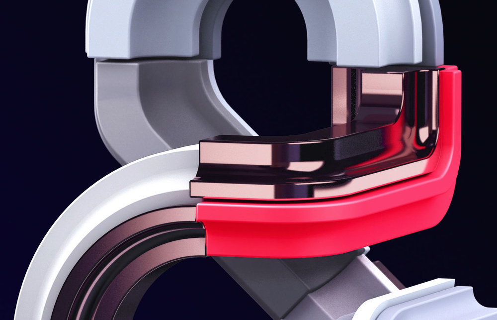 Adobe Ampersand - Design #2 detail closeup.