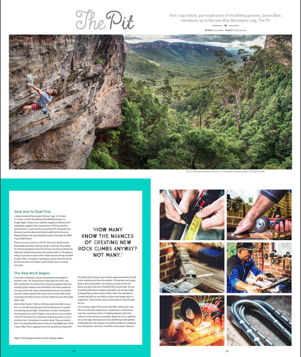 Vertical Life Magazine - Photo Story - June 2015