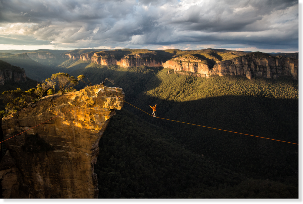 Hanging Rock, Blue Mountains (Australia)