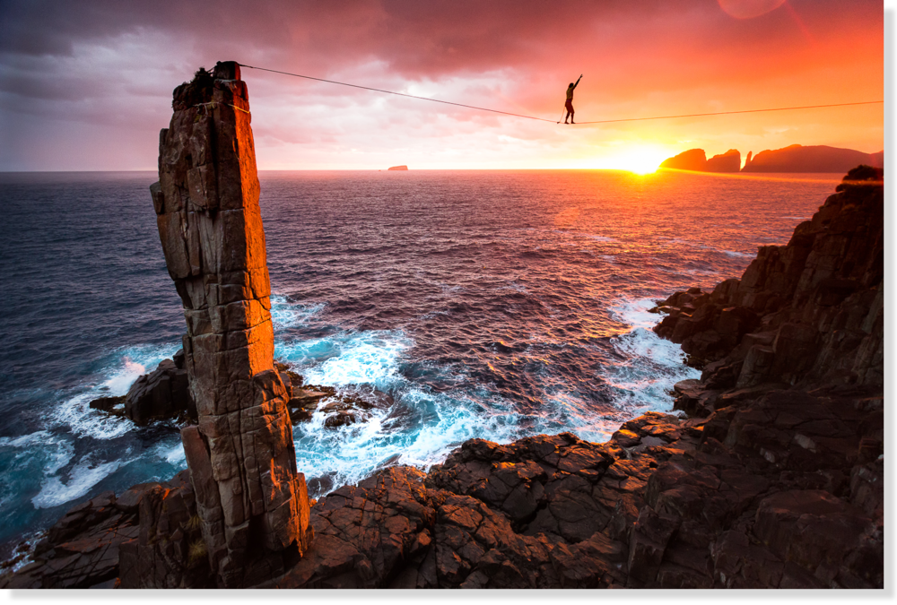 Winning photo:    The Moai, Tasman Peninsula (Australia)
