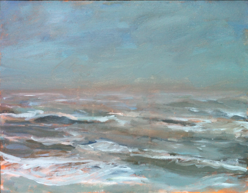 Stormy Morning, Southwold, 2012