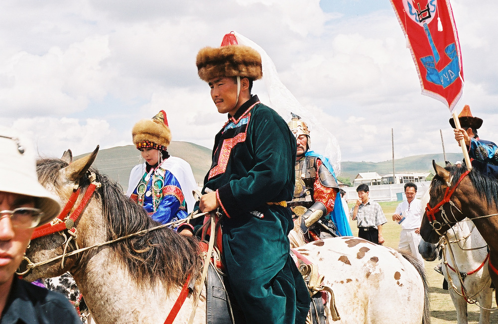 International Festival near Mongolia