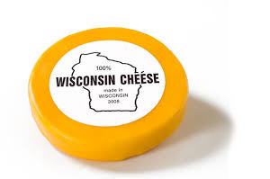 There's nothing like a nice brick of Wisconsin cheese!