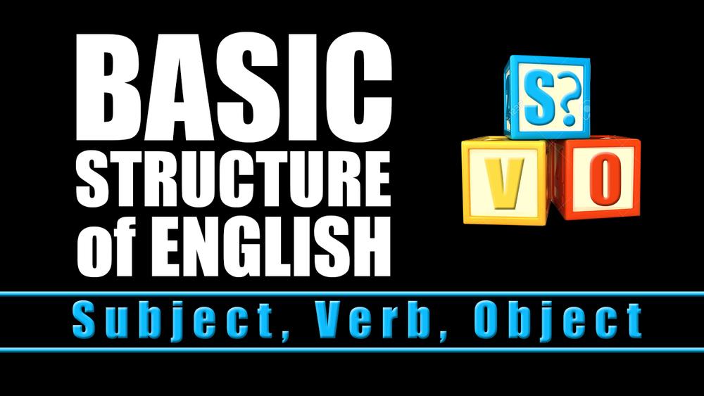 Basic Structure of English
