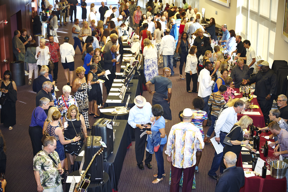 2015 wine reception and silent auction