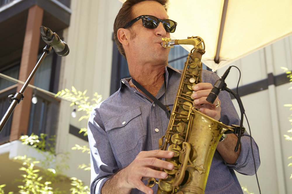 eric marienthal at the 2015 wine down