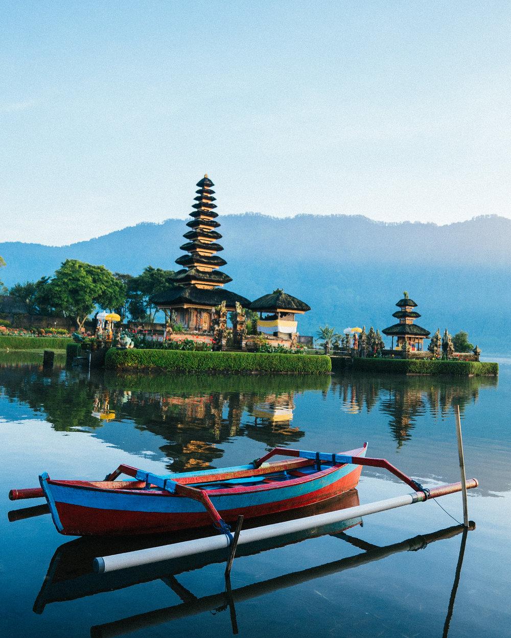 Ulun Danu Bratan, Bali, Indonesia