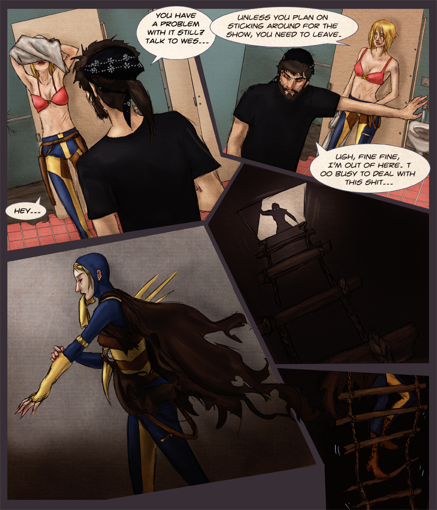After-comic Webcomic comics webserries science fiction post apocalypse Chapter 1 page 13