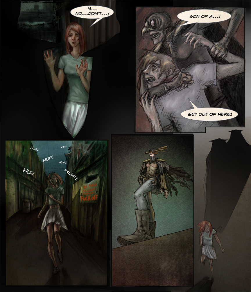After-comic Webcomic comics webserries science fiction post apocalypse Chapter 1 page 19