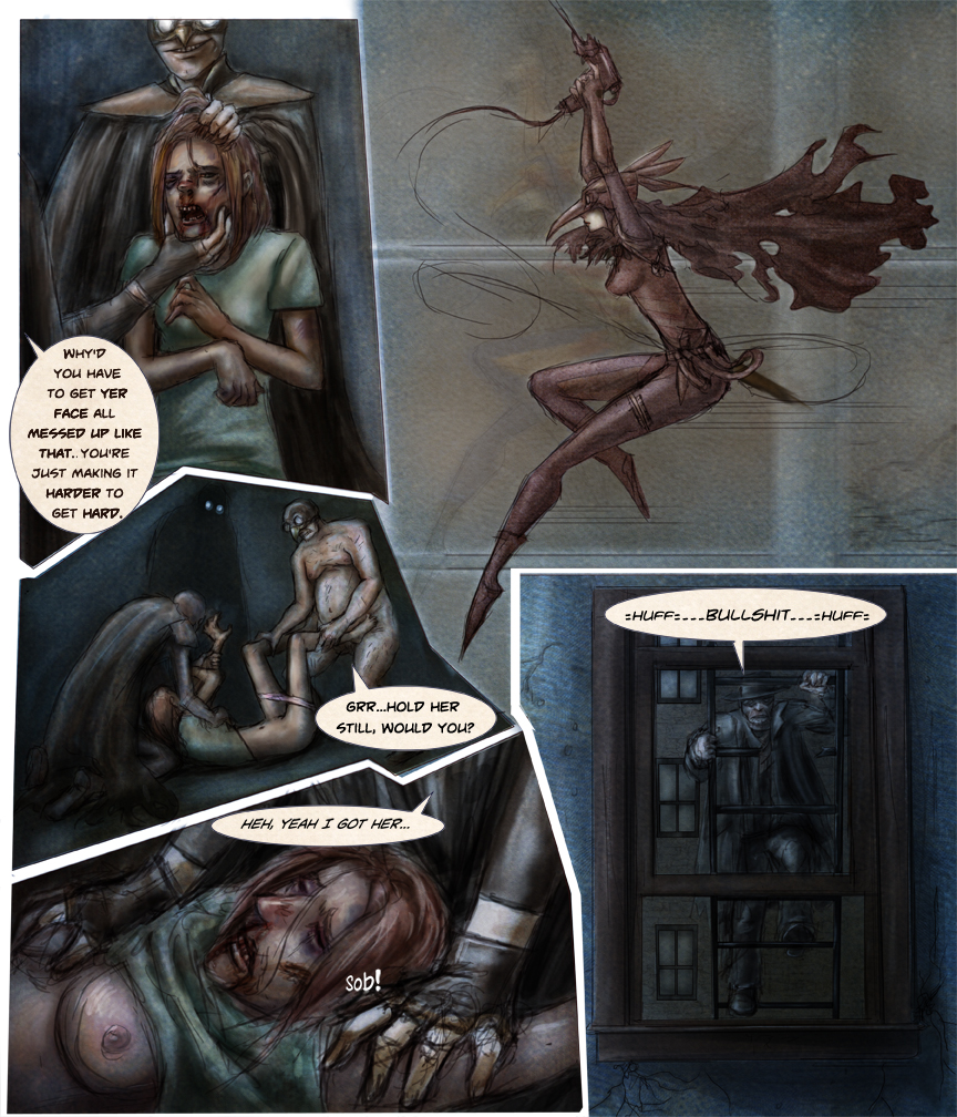 After-comic Webcomic comics webserries science fiction post apocalypse Chapter 1 page 21