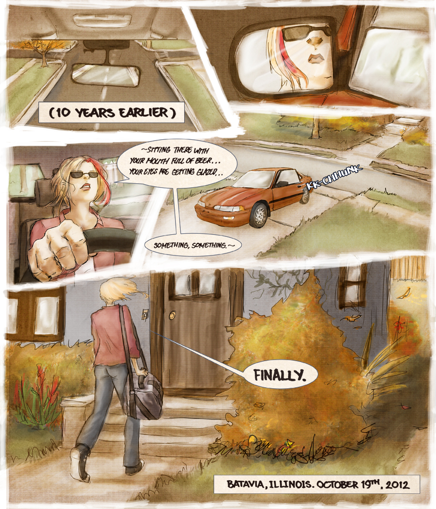 After-comic Webcomic comics webserries science fiction post apocalypse Chapter 2 page 1
