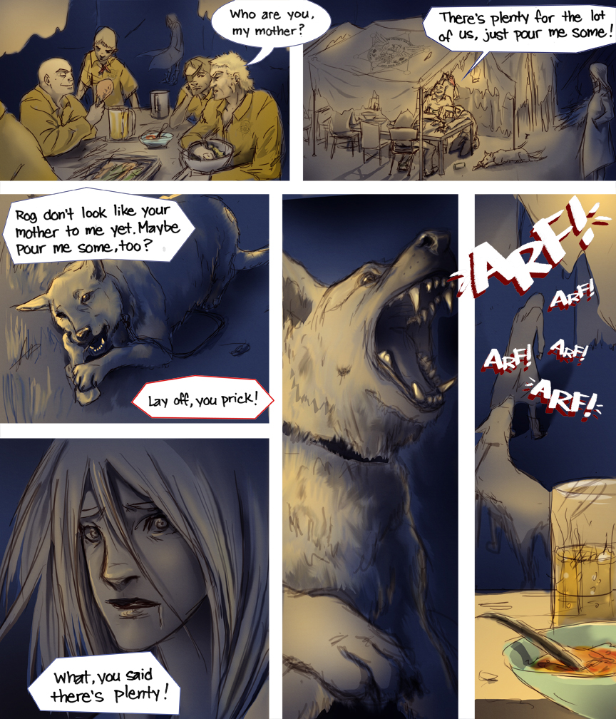 After-comic Webcomic comics webseries science fiction post apocalypse Chapter 3 Page 24