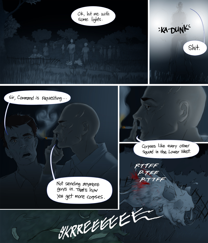 Chapter 5 page 1 After Webcomic Post Apocalypse Sci Fi Comic