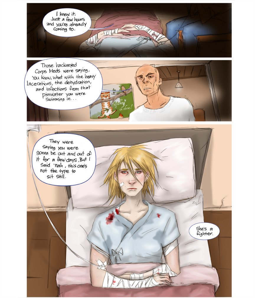 After Webcomic Chapter 5 pg 5 Post Apocalypse Sci-Fi
