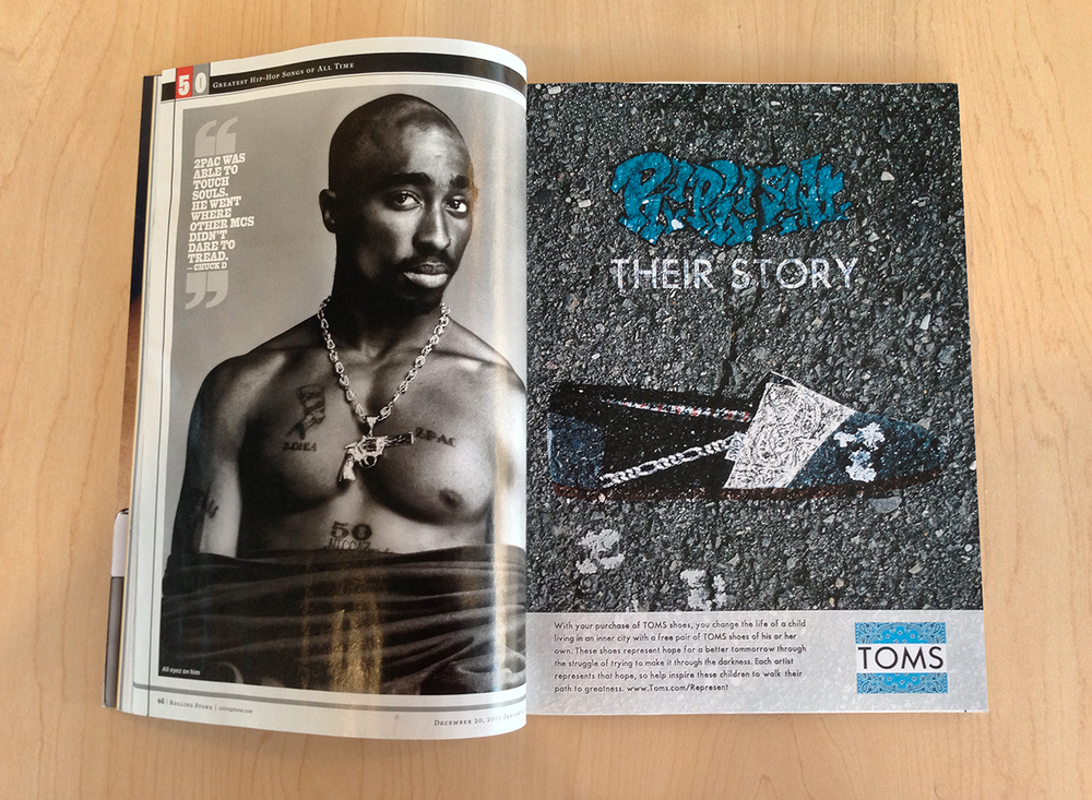 Narrative Graft: Rappers + Toms Shoes